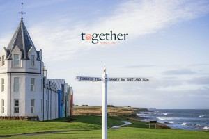 Together Travel Logo. Orca Watch 2020 Accommodation Provider. Copyright: Together Travel.