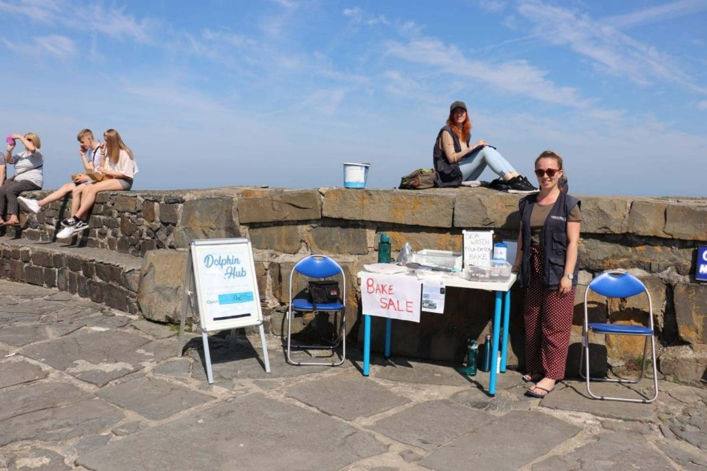 Bake Sale at the Pier by Chantelle Green/ Sea Watch Foundation