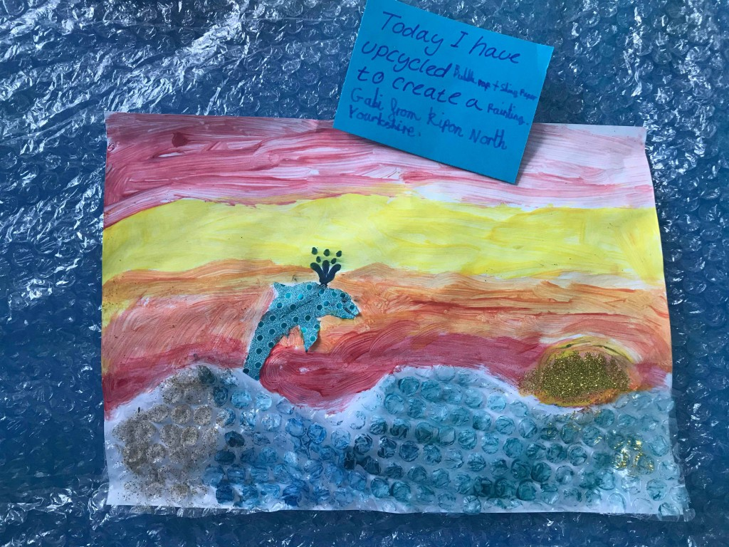 Dolphin scene made by Gabi