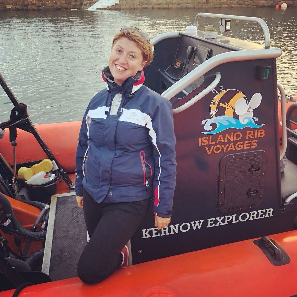 Nicky Harris - New Sea Watch's Regional Coordinator for Guernsey.