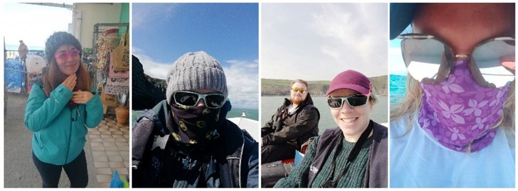 The Sea Watch team staying protected/ Jaz Harker