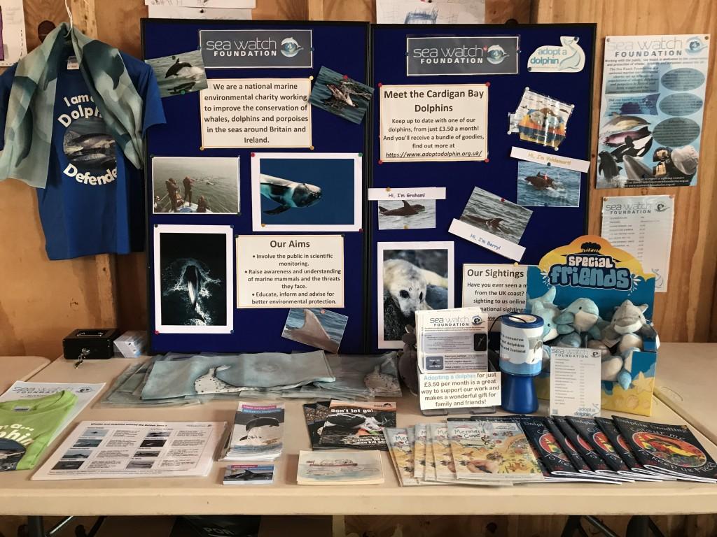 Market Stand by Ellie Richardson/ Sea Watch Foundation