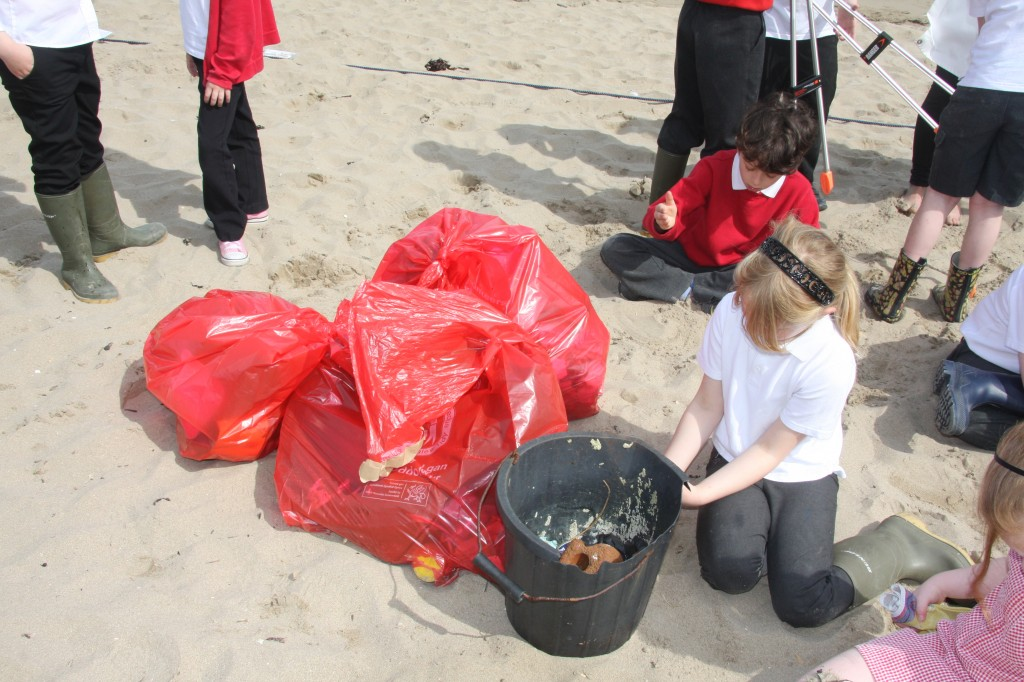The rubbish we collected