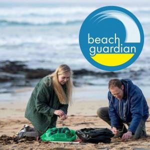 Beach Guardian co-founders. Copyright: Beach Guardian
