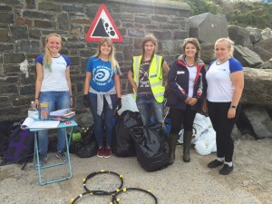 Sea Watch Foundation beach clean.